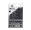Bosch 8-Piece Brad Point Drill Bit Set